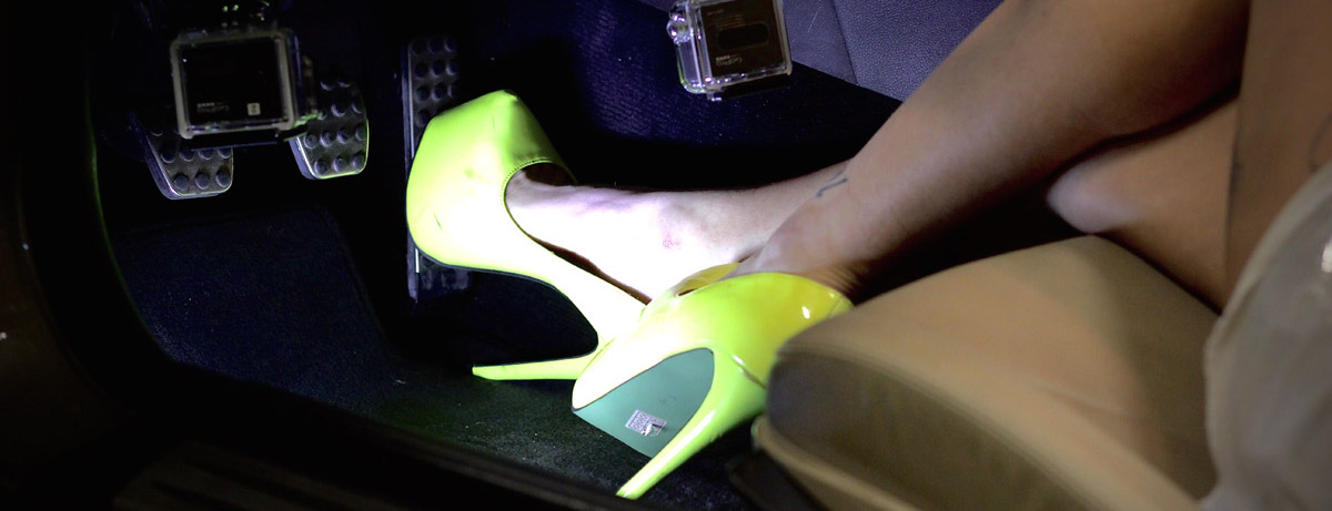 Pedal Pumping Flooring : Quot slk and lime heels